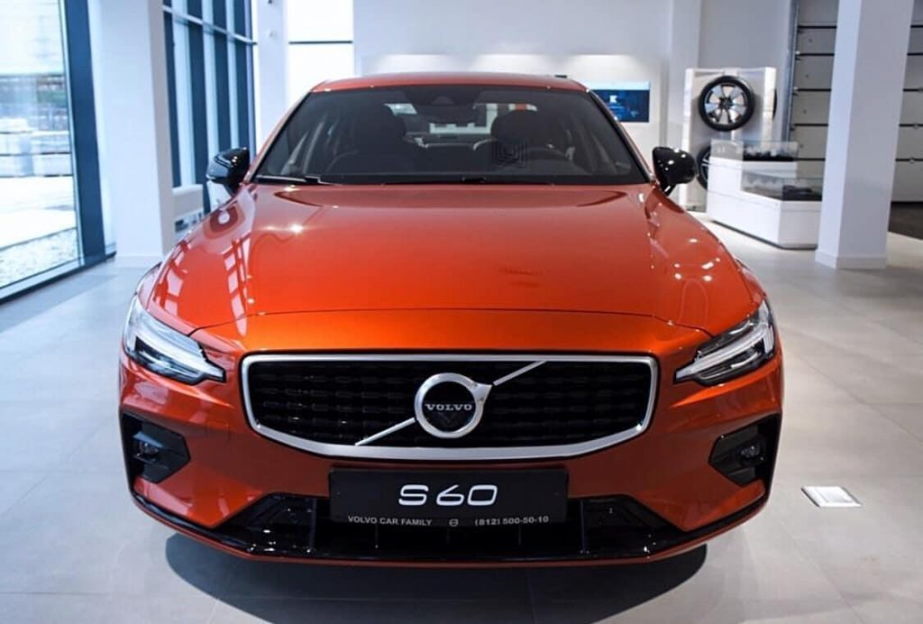 Bảng giá lăn bánh xe Volvo S60