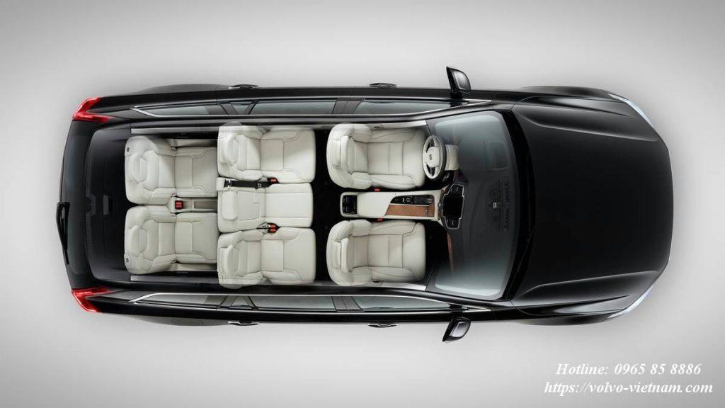 Nội thất sang trọng trong xe Volvo XC90